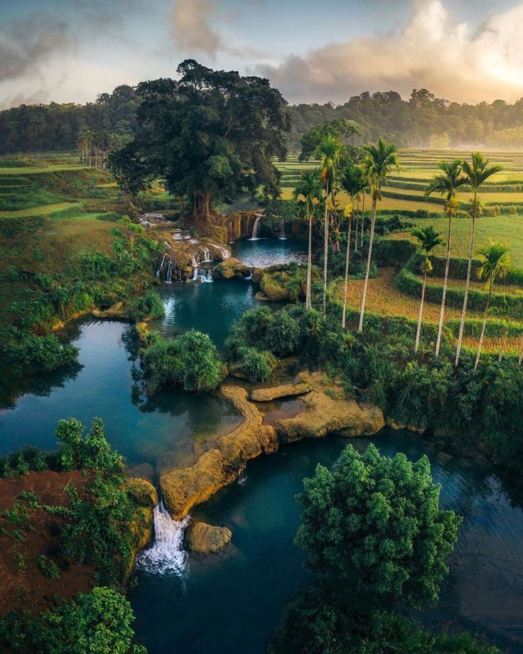 10 Best Places To Visit In Indonesia Tour To Planet In 2021 Cool Places To Visit Natural Waterfalls Travel Around The World