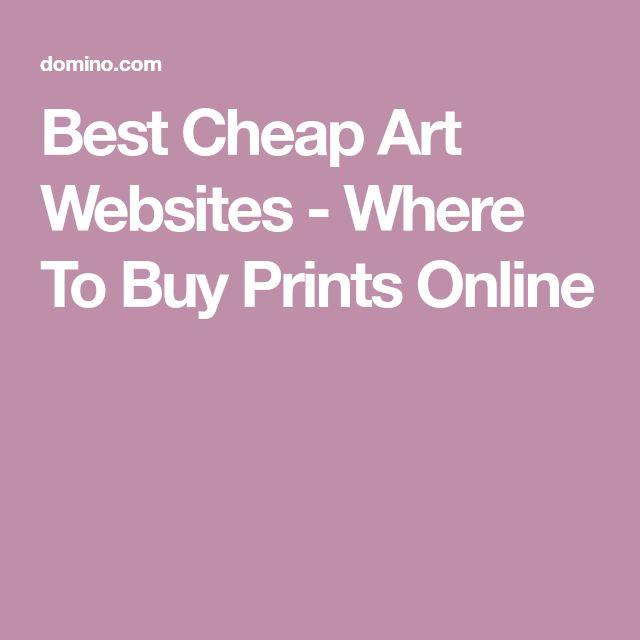 Best Cheap Art Websites - Where To Buy Prints Online