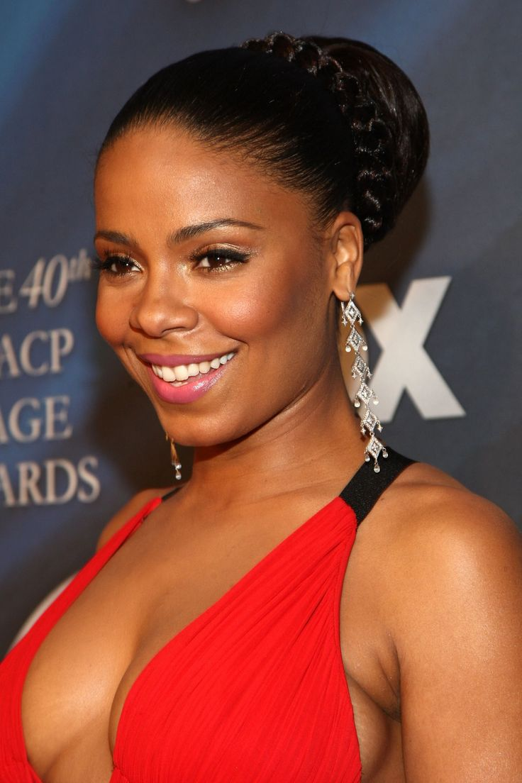Sanaa Lathan Beautiful Shades of Brown Pinterest - Cute Black Hairstyles