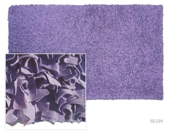 Shaggy Raggy Purple Shag Rug