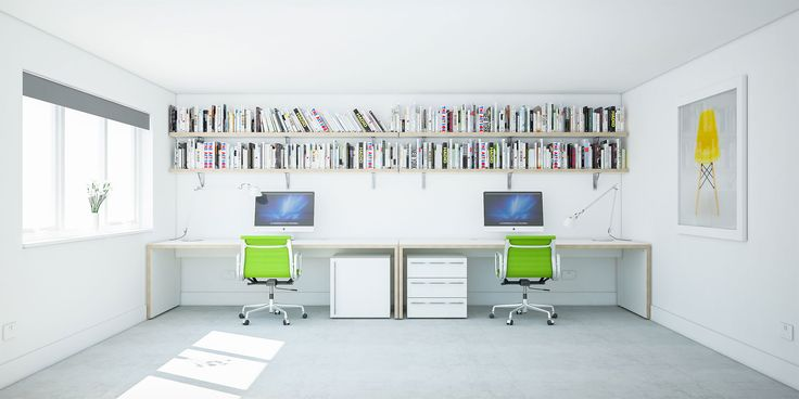 Custom Home Office Desks