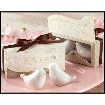 Love Birds (Salt & Pepper Shakers)  Wedding Bonbonniere, Guest Favours.  Only $2.00each!