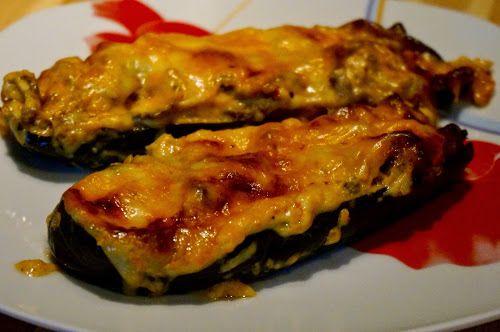 Home food: Фаршированные баклажаны с мясом и грибами / Stuffed eggplant with meat and mushrooms