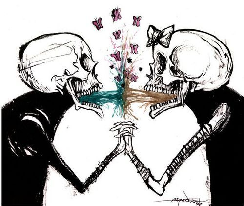 vomit is luove- alex pardee.