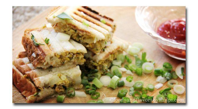 Scrambled Egg Sandwich Recipe| Egg Sandwich recipe