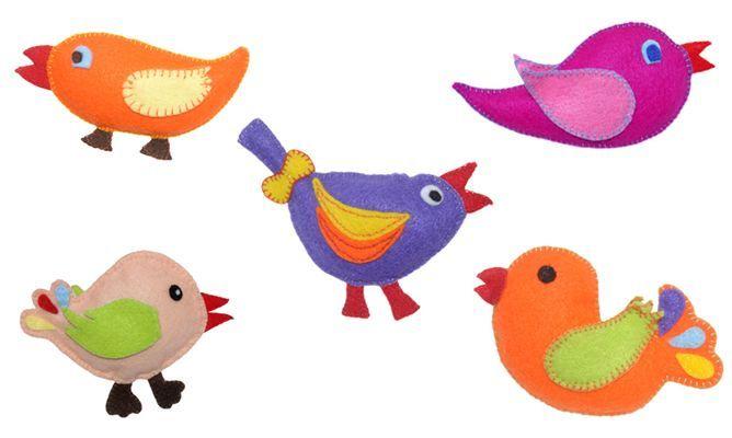 Diseños de pájaros en foami - Imagui