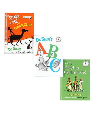 Look at this #zulilyfind! Dr. Seuss's ABC Book Set by Dr. Seuss #zulilyfinds