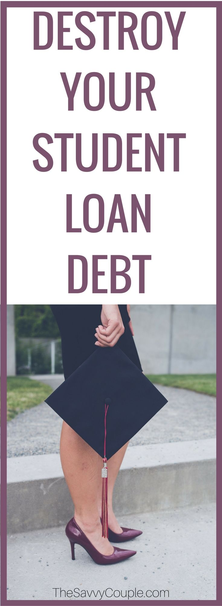 Struggling to pay your student loans? You're not alone. Celebrate the milestones in paying off your student loan debt. Every little bit counts! Take control over your student loan payments. Student loan debt does not need to consume your budget. Student Loan Debt   Student Loans   Refinance Student Loans   Loan Forgiveness   via @TheSavvyCouple