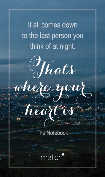Where Your Heart Is <3