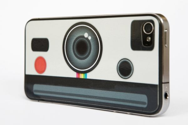 The Instant Camera iPhone Decal - The preferred iPhone decal of Eddie Land ($6.00, http://photojojo.com/store) @Photojojo ♥s Photography