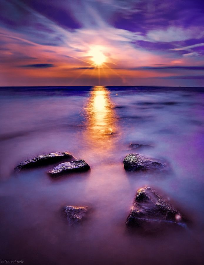 ~~Violet ~~ epic sky, North Sea, Blankenberge, Belgium by Yousif Aziz~~