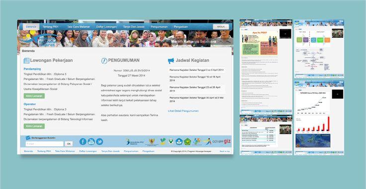 Website e-Recruitment  Program Keluarga Harapan - Direktorat Jaminan Sosial - Direktorat Jenderal dan Jaminan Sosial - Kementerian Sosial Republik Indonesia - http://rekrutmen.pkh.kemsos.go.id