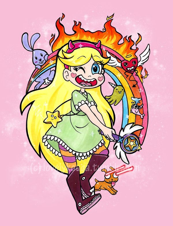 Star butterfly by lovelykouga-d8q9zdp