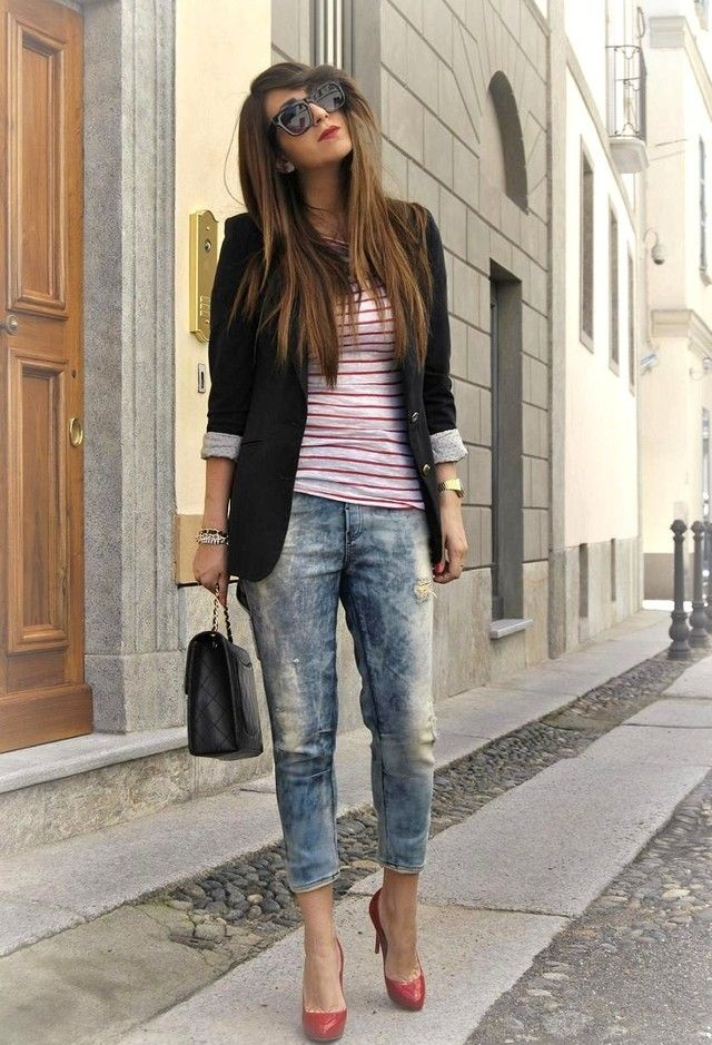 Diesel jogg jeans  , Christian Louboutin   and Promod
