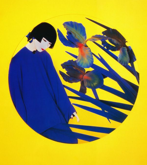 "taishou-kun: "" Yamaguchi Sayoko 山口 小夜子 (1949-2007) for Shiseido 資生堂 - Design by Serge Lutens - Japan - 1980s """