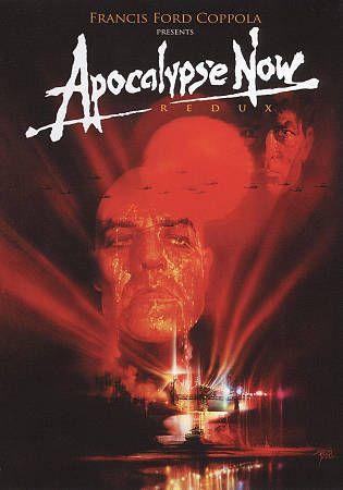 ACTION/ADVENTURE-Apocalypse Now Redux  DVD Martin Sheen & Marlon Brando