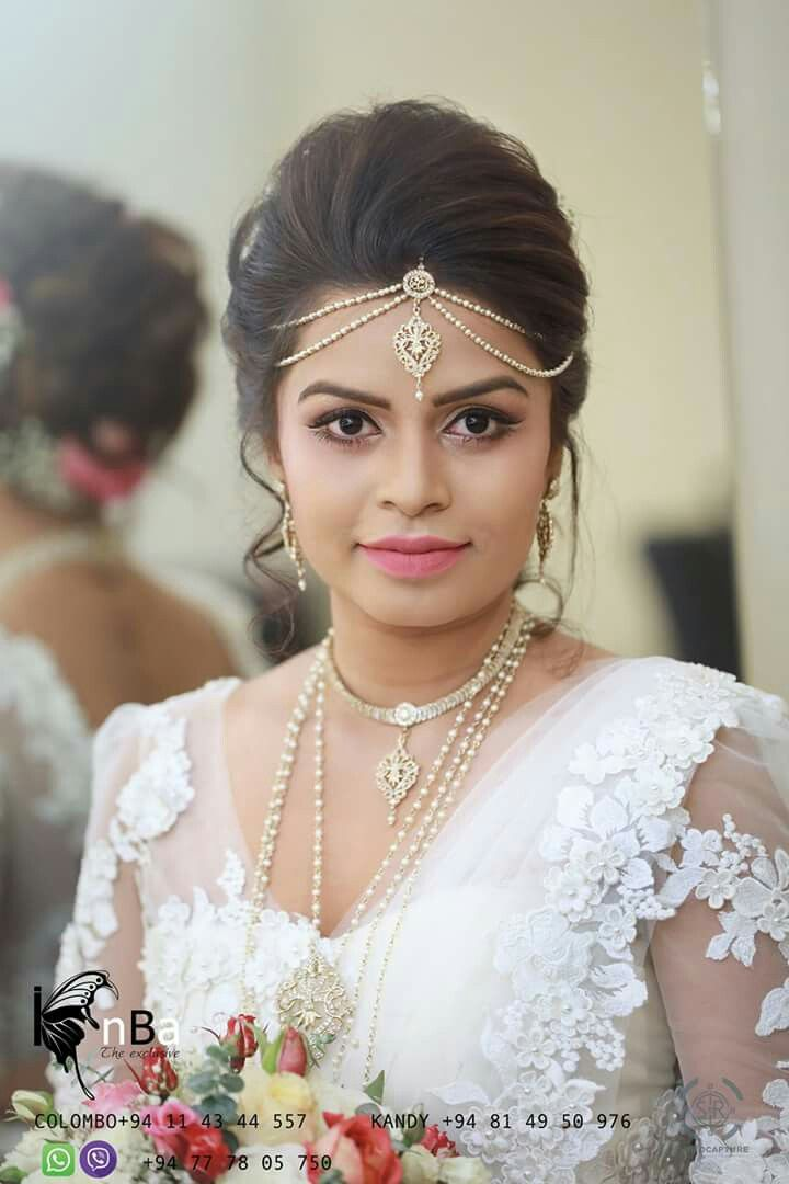 Pin By Samudi Amarasinghe On Sri Lankan Bridal Saree Hair Jewelry Wedding Bride Jewellery Bridal Wedding Dresses