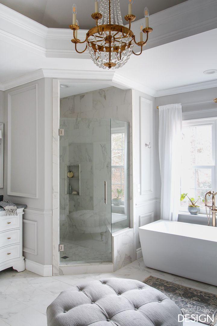 Behind The Scenes Master Bathroom Recap Video