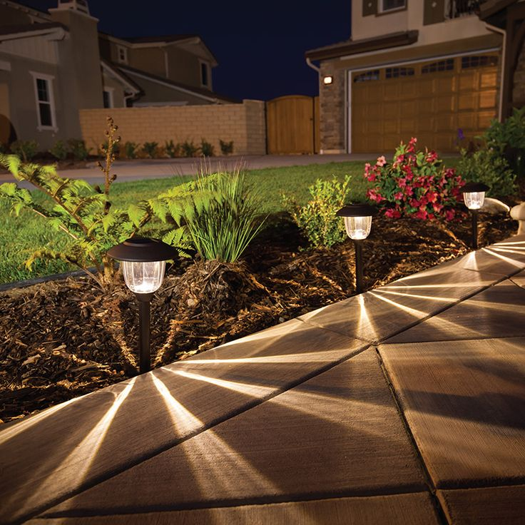 Luminarios solares para exterior LED Smart Yard