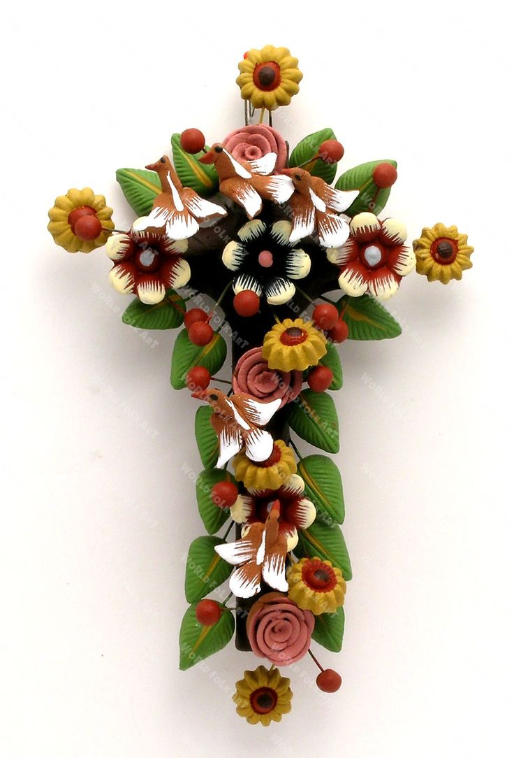 Metepec cross from Mexico