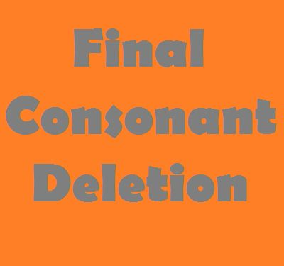 Learn how to fix final consonant deletion in children (plus free worksheets and minimal pair lists)