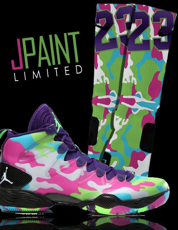 brand new 90ea9 64722 ... usa jpaint nike elite socks for nike air jordan xx8 28 se bel air camo  b58df