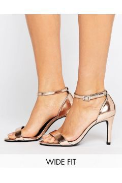 New Look Wide Fit Buckle Detail Barely There Heeled Sandal - Pink https://modasto.com/new-look-wide-fit/kadin-ayakkabi-sandalet/br58484ct19