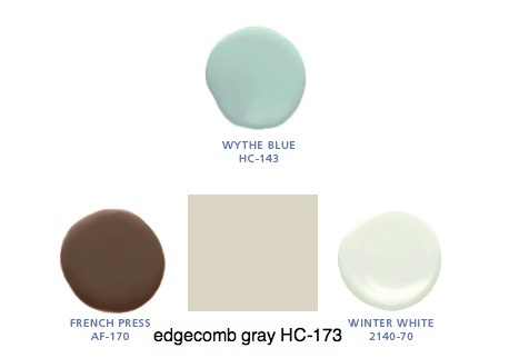 Exterior paint - Sub out the Aged Bronze Benjamin Moore for the french press for a Coastal house