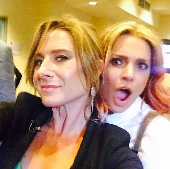 Wentworth Season 4 Wrap Party Danielle Cormack Libby Tanner #wentworth