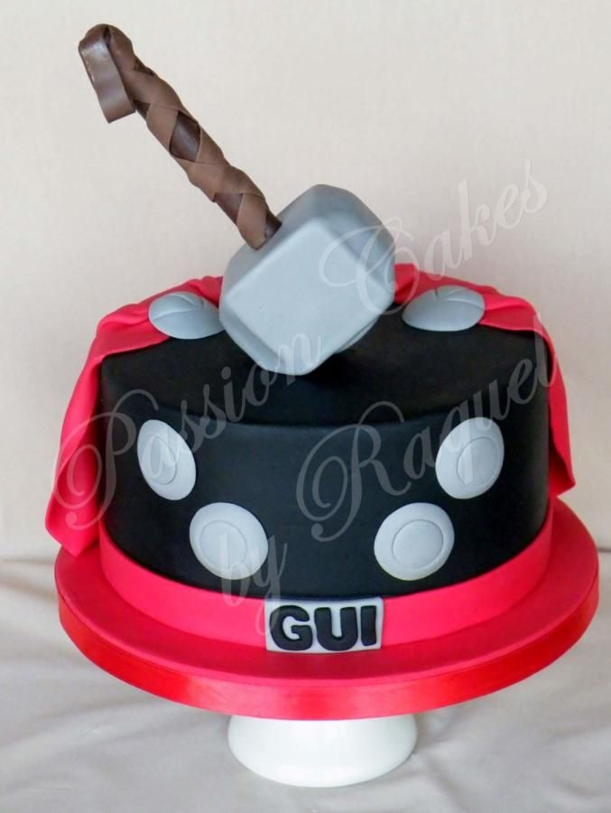 Thor - Cake by Passion Cakes By Raquel
