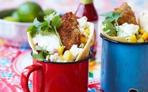 Fish taco - Recept - Arla