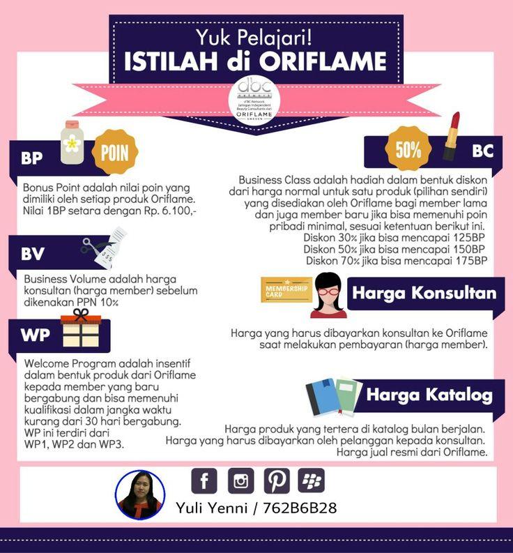 Pelajari yuk istilah di Oriflame...  #oriflame #dbcn