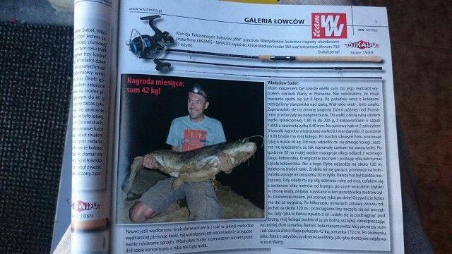 Nagroda miesiąca,  Monte winner!!!  Catfish 174cm/42kg