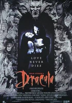 Bram Stoker's Dracula (also released as Dracula) is a 1992 American Gothic horror vampire romantic film directed and produced by Francis Ford Coppola, based on the novel Dracula by Bram Stoker. It stars Gary Oldman as Count Dracula, Winona Ryder as Mina Harker, Anthony Hopkins as Professor Abraham Van Helsing, and Keanu Reeves as Jonathan Harker  Dracula was greeted by a generally positive critical reception and was a box office hit. The film's score was composed by Wojciech Kilar and…