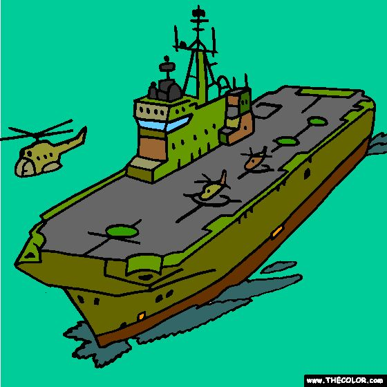 mistral amphibious assault ship coloring page