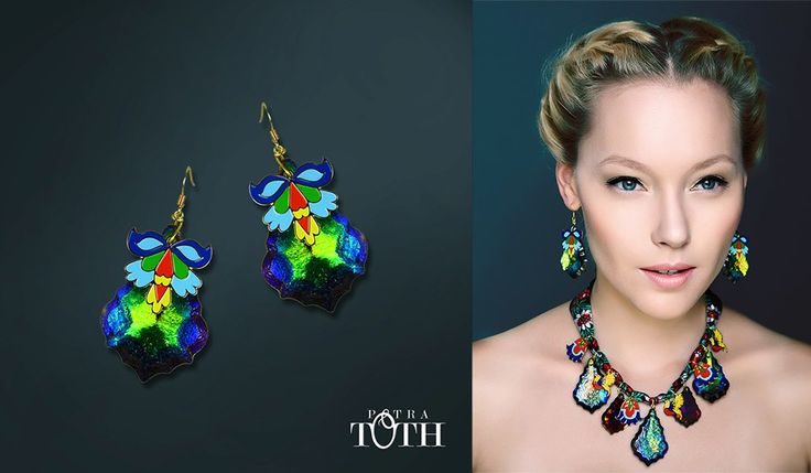 Earrings by Petra Toth Jewellery. www.petratoth.sk