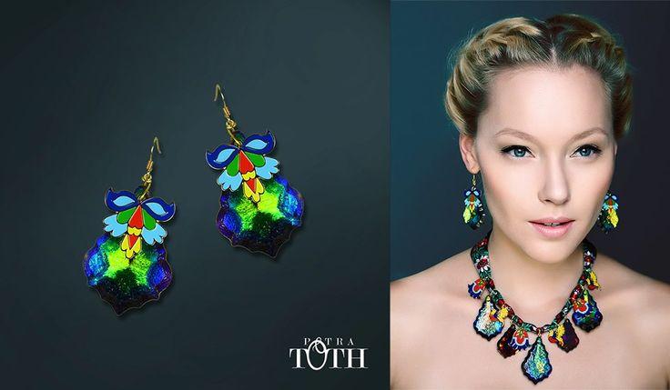 Earrings by Petra Toth Jewellery. www.petratoth.sk