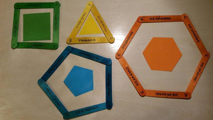 Criar, amar, vivir: Figuras geométricas planas                                                                                                                                                      Mais