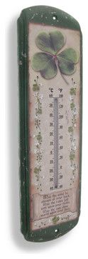 St. Pat's Day - Irish Blessing Thermometer $20