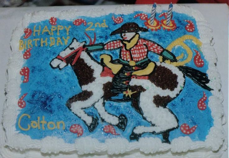 Horse Birthday Cakes for Boys | Cowboy — Children's Birthday Cakes