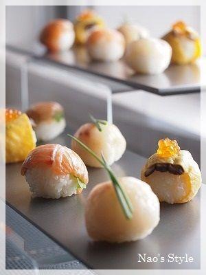 Temari sushi 手鞠寿司
