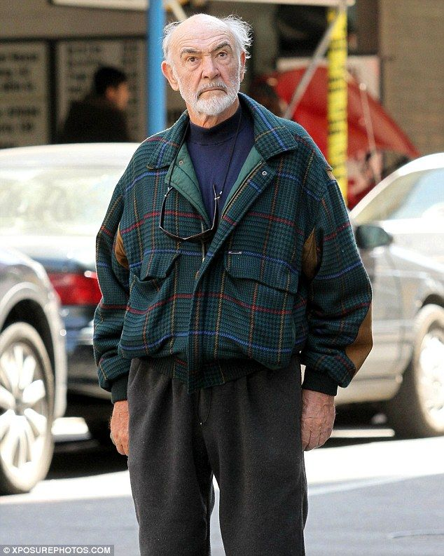 Bond. James Bond. From Manhattan with love: Sean Connery, now 82, takes a walk out and about