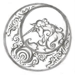 Unicorn Tattoo Design By Kayari Of Midnight On DeviantART