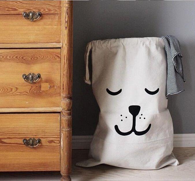 Faltbare Wäsche waschen Wäschekorb Niedlich Speicher-Beutel Lagerbehälter