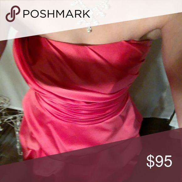 Bridle Dress and Necklace Midi puff watermelon dress Dresses Midi
