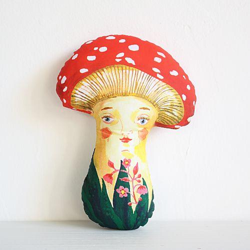 ナタリー・レテ ドール Mushroom(キノコ) - 大人かわいい雑貨のセレクトショップ「マッシュノート」