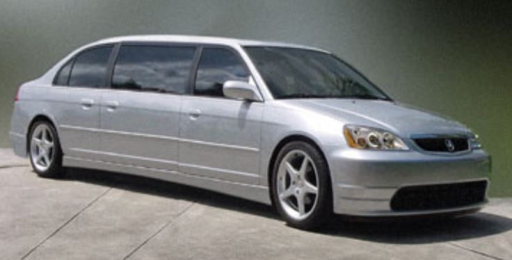 Honda Civic Stretch Limo Tuning Modified | Stretched ...