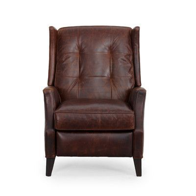Barcalounger Lincoln Top Grain Leather Recliner