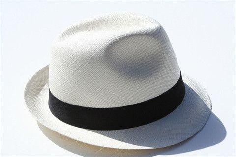 panama hat - trillby - ivory