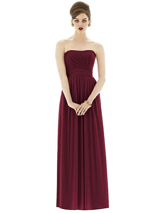 Alfred Sung Style D651 http://www.dessy.com/dresses/bridesmaid/d651/